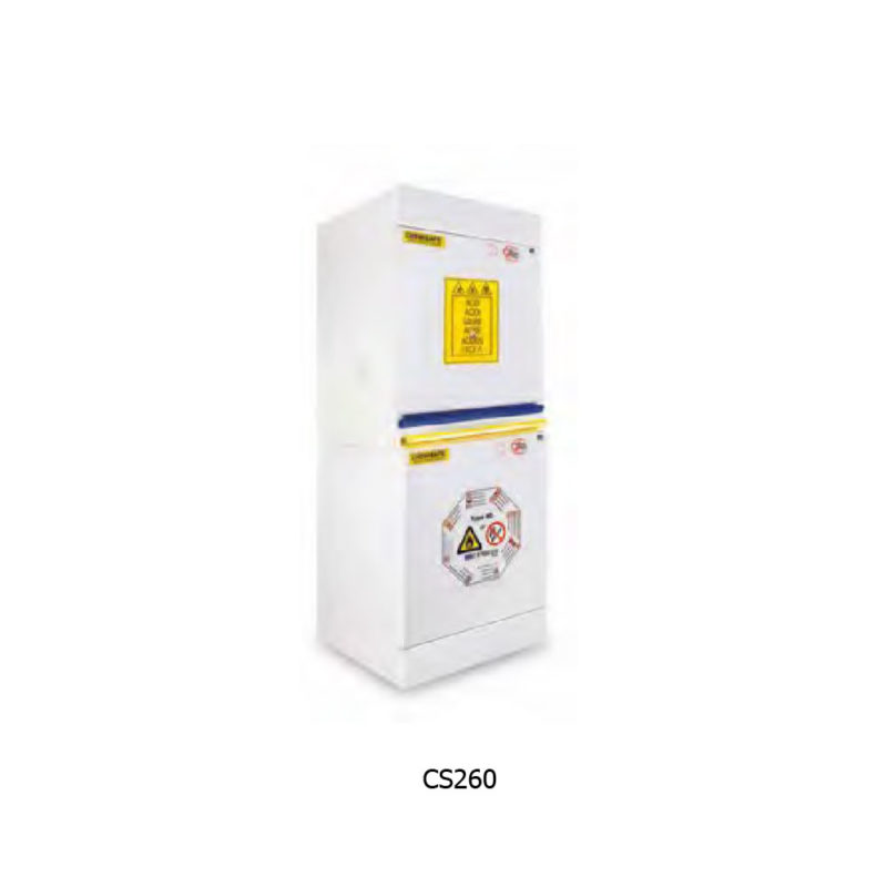 ARMADIO DI SICUREZZA COMBINATI CHEMISAFE SERIE COMBISTORAGE 2C MODELLO CS260
