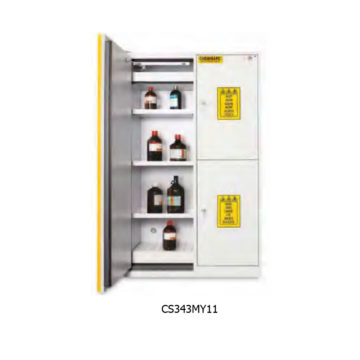 ARMADIO DI SICUREZZA COMBINATI CHEMISAFE SERIE COMBISTORAGE 3C E 4C MODELLO CS343MY11